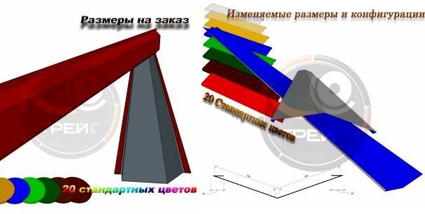 добор для кровли и сэндвич панелей на tradess.ru
