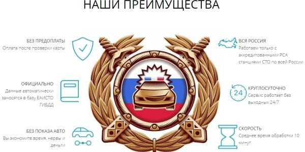Техосмотр онлайн за 5 минут tehosmotre24.ru
