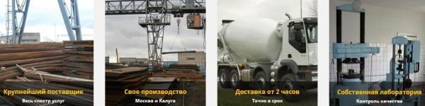 продажа бетона dcm-group.ru
