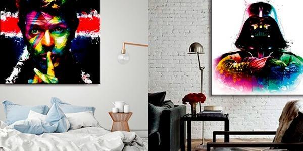 Pih-Poh: модные и стильные картины и постеры для украшения интерьера