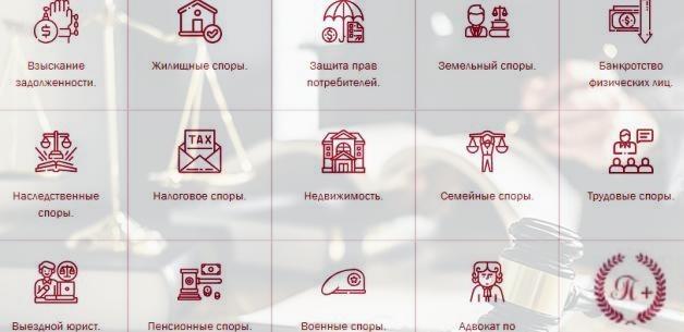 юридическая помощь на pravoved-plus.msk.ru