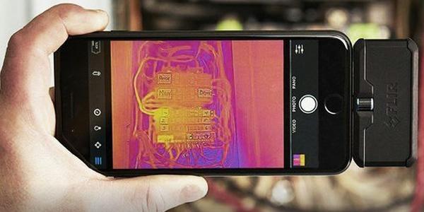 Что такое тепловизор для смартфона fortuna.army/thermal-imager-smartphone