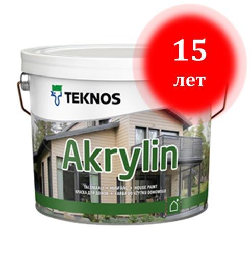 Краска для бруса наружная и прочая продукция производителя из Финляндии «Teknos»